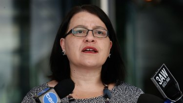 Minister for Children Jenny Mikakos is under fire over the juvenile justice system.