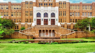 Little Rock Central High School, which will be included on the US Civil Rights Trail.