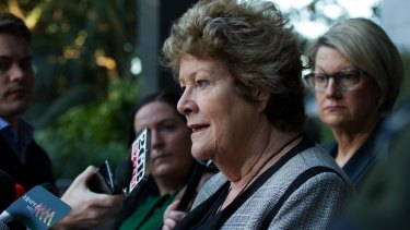 NSW Health Minister Jillian Skinner gave an earlier a press conference about the tragic death of a baby at Bankstown Hospital last Tuesday.