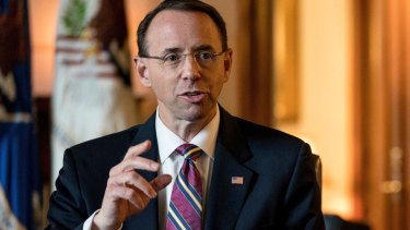 Deputy Attorney-General Rod Rosenstein is unlikely to fire Robert Mueller.