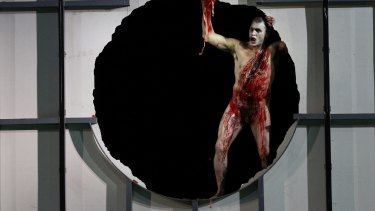 Jud Arthur as Fafner in Opera Australia's <em>The Melbourne Ring Cycle</em> in 2013.