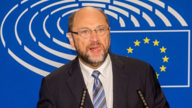 European Parliament president Martin Schultz was an early bird in reacting to the Brexit vote.
