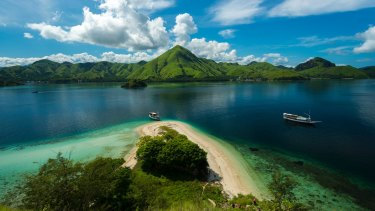 Labuan Bajo, near Komodo and Rinka islands.