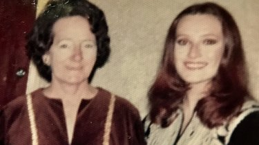 "With her mother, Isabell, in the mid-1970s. ""Nothing I ever did pleased her,"" Turner says."