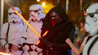 Feeling the force: the government is reviewing tax breaks for the film industry to lure back productions, such as the Star Wars franchise.