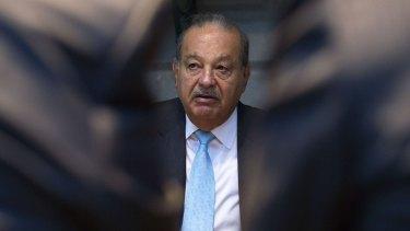 Carlos Slim lost almost $20 billion in 2015.