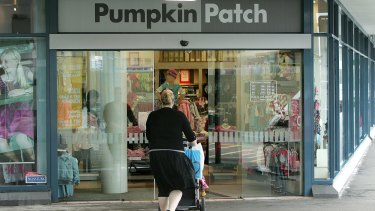 About 1000 staff work in Pumpkin Patch's network of 117 stores in Australia, and about 600 in its 43 New Zealand outlets.