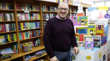 Bookshops are hubs of literary and communal life, staffed by friendly, knowledgeable bookworms, such as bookseller Scott Whitmont at Lindfield Books.