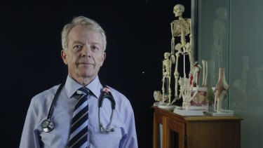 "Opposed: The campaign ""infantilised"" doctors, says the AMA's Brian Morton."