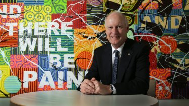 """Wesfarmers managing director Richard Goyder: """"There is a point that Australia has got significant natural resources and there should be a benefit to businesses in this country,"""" he said."""