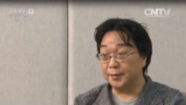 Chinese-born book publisher Gui Minhai appeared on Chinese TV on Sunday saying he surrendered to police over a fatal drink driving incident.