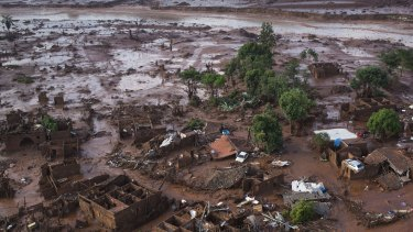 The disaster at the Samarco iron ore mine was another headache for BHP.