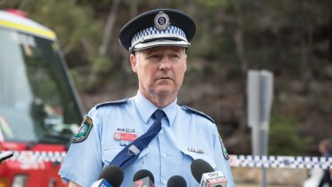 Inspector Michael Gorman confirmed that all six on board the sea plane had died.