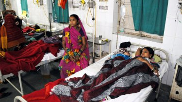 Life-threatening procedure: Sixty-eight women who were sterilised have been hospitalised.