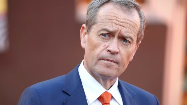 """Bill Shorten declared that the election would be """"a referendum on the future of Medicare""""."""