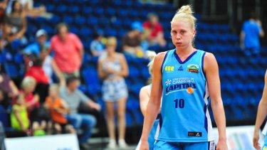 Abby Bishop just needs medical clearance to re-sign with the Canberra Capitals.