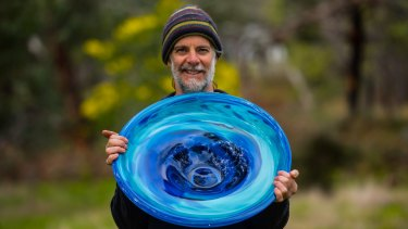 Pomonal glass artist James McMurtrie.