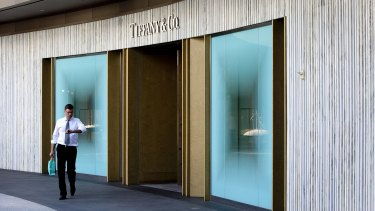 Tiffany & Co said it continued to experience softness in Hong Kong and Macau as it believed some Chinese tourists had been travelling to and shopping in other regions.