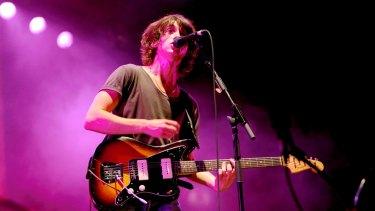 Arctic Monkeys playing in Sydney in 2009.