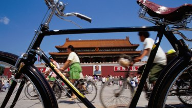 China is struggling to ride through a down point in its growth.