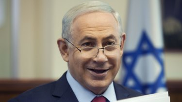 Settling on occupied territory ... Israeli Prime Minister Benjamin Netanyahu is overseeing plans to appropriate a large tract of fertile land in the occupied West Bank.