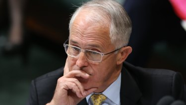 Prime Minister Malcolm Turnbull's personal attribute ratings have taken a hit.