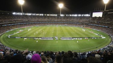Tougher security measures at sport stadiums will include body scanners.