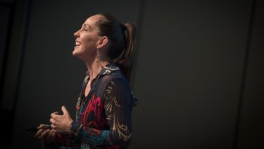 Janine Allis said it's scary being an entrepreneur.