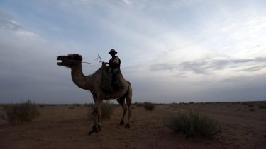 Oyu Tolgoi is in the South Gobi Desert where camel herders ply their trade.