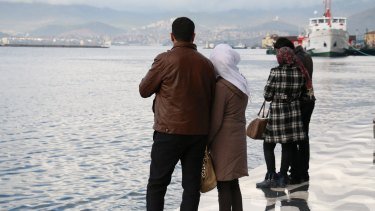The two couples will be smuggled across the Aegean Sea to Greece in coming days.