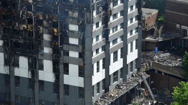 The NSW government does not know how many buildings could be clad the material blamed for the London inferno.