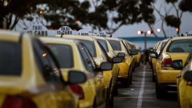 Taxi wars: The Victorian Tax Services Commission believes the Uber service undercuts licensed drivers.