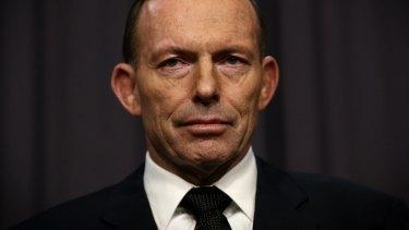 Under fire: Prime Minister Tony Abbott.