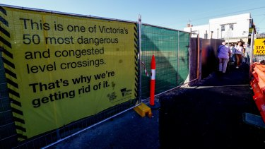 Alphington is on the list of level crossing removals - but it's far from settled.