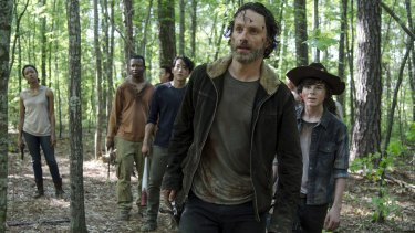 Black, white, Asian, Latino, straight, gay - they all find a home on The Walking Dead.