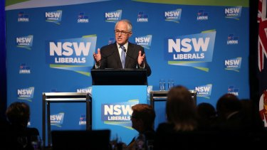 Prime Minister Malcolm Turnbull has failed to put donations reform on the national agenda.