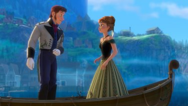 In <em>Frozen</em>, 59 per cent of lines are spoken by male characters.