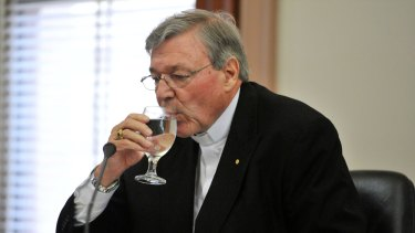 Cardinal George Pell was too ill to travel from Rome earlier this month.
