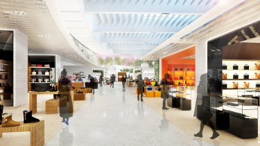 New duty free retail at the Sydney International terminal.