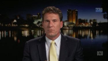 Cory Bernardi speaks to 7.30.