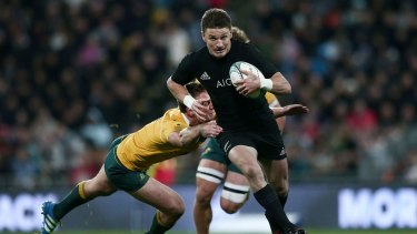 Beauden Barrett has committed to New Zealand Rugby until after 2019 World Cup.