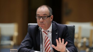 NAB chief executive Andrew Thorburn told a parliamentary committee the bank was taking action on ethical breaches.