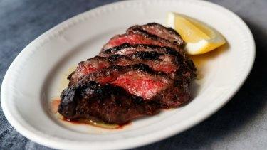 Spinalis beef.