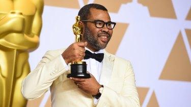 Jordan Peele, winner of the Oscar for best original screenplay for <i>Get Out</i>.