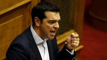Greek Prime Minister Alexis Tsipras is showing no sign of backing down.