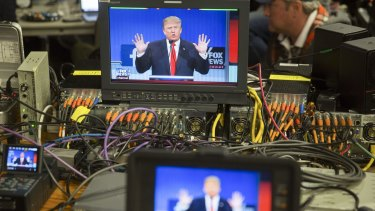 Donald Trump has received an unprecedented amount of media coverage, particularly on cable news networks.