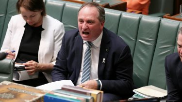 """Deputy Prime Minister Barnaby Joyce says a special tax on sugary drinks would be """"bonkers mad""""."""