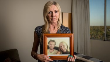 Sally Morrison's son Sam died from a drug overdose last June.