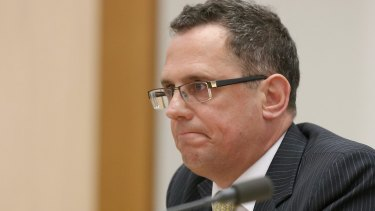 Former solicitor-general Justin Gleeson resigned from the post on October 24.