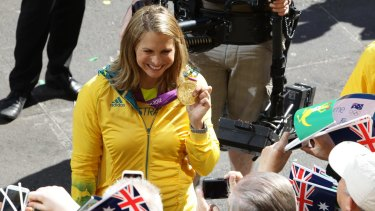 Former Olympian Libby Trickett says she was too embarrassed to talk to her coaches about her period when she first started a career in professional swimming.